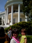 Stunning day for the White House Spring Garden Tour!