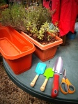 Swap the garden scissors for a utility knife